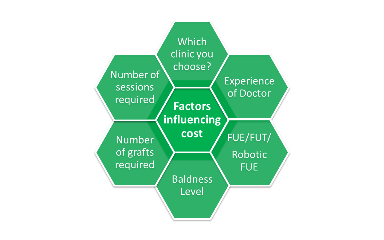 Factors influencing cost