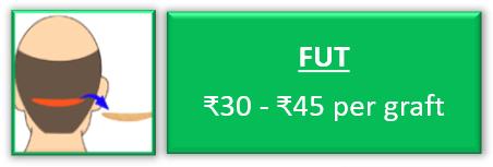FUT Hair Transplant cost in Delhi