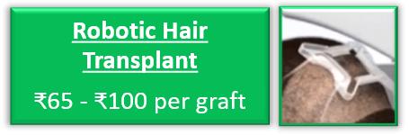 Robotic Hair Transplant cost in Delhi