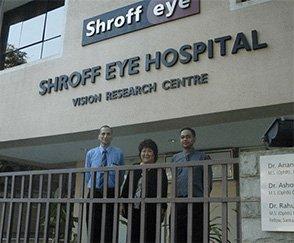 Shroff eye